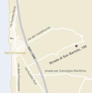 Mappa San Vincenzo