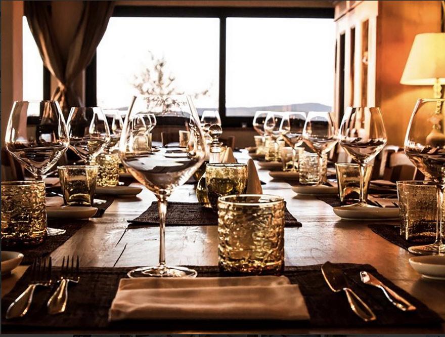I tavoli del nostro ristorante